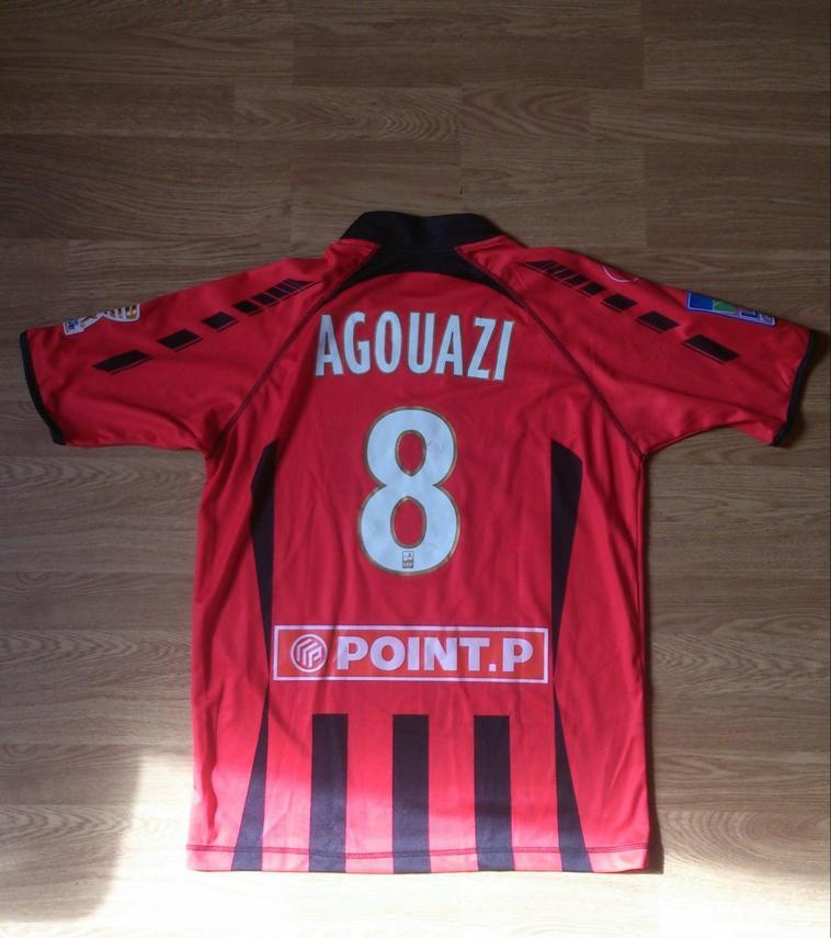 Maillot porté par Laurent Agouazi en Coupe de la Ligue avec Boulogne 2009/2010