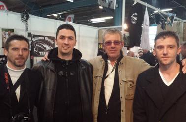 Quel belle rencontre avec Jean Claude Tanzilli au salon de la peche a Monluçon
