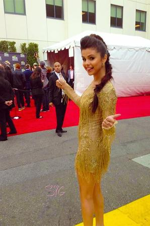 14/04: Selena sur le tapis rouge de MTV Music Awards 2013 !