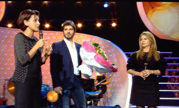 """3/03/14 : Participation de Patrick, à """"Une femme, un artiste"""", sur France 2 (photos)"""
