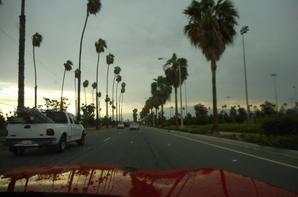 de retour à L.A.