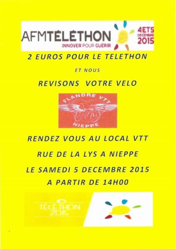 TELETHON 2015 !!!! MERCI A LOLO ET NENE !!!! et MERCI A MISS NIEPPE ET SES DAUPHINES POUR LEUR SOUTIEN !!!