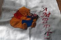 Cadre naissance pour Ambre
