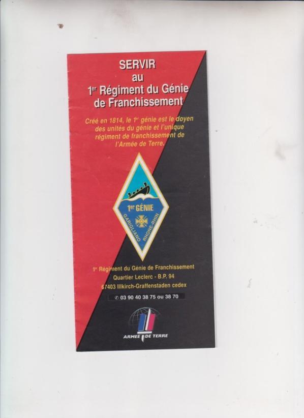 Premier Régiment du Génie  àILLKIRCH (67) Pour un ami de EB