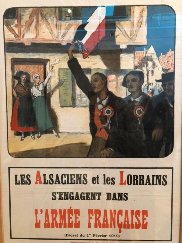 Retour à la France le 22 novembre 1918...