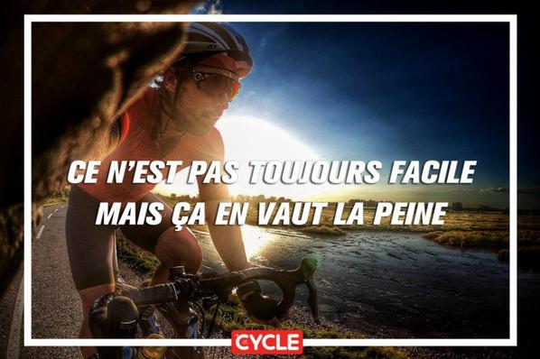 Belles citations de cyclotouristes...