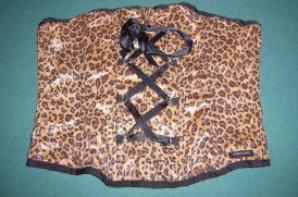 corsé léopard