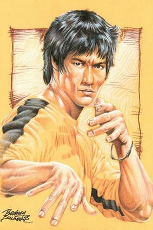 De Retour En Mode Bruce Lee .....