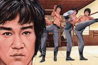 De Retour En Mode Bruce Lee Dessins