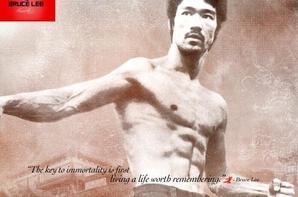 De Retour En Mode Bruce Lee