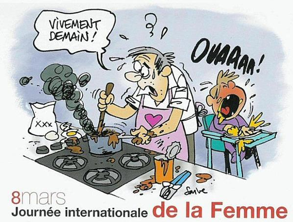 Humour: la journée internationale de la femme en images
