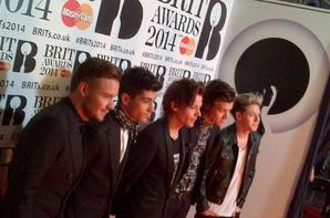 Quelques photos du red carpet #BRITs2014