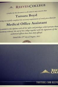 Life at Reeves College on Instagram by tamarastacey