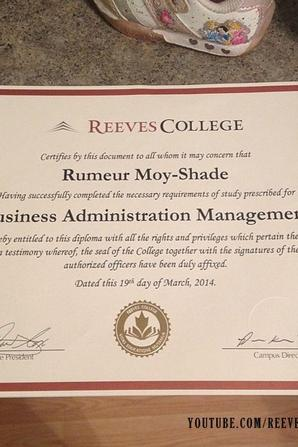 Life at Reeves College on Instagram by echochanel