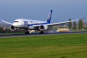 ANA-ALL NIPPON AIRWAYS  BOEING 787-8 Dreamliner  JA822A