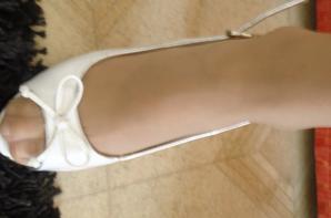 Les pieds de Marie