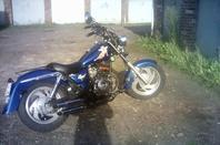 Avancement de la moto