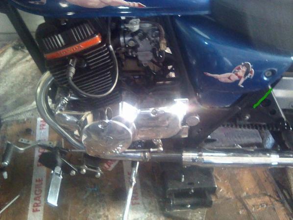 Echappements Honda CBT modifiés
