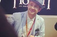Martin Freeman au Comic Con 2012