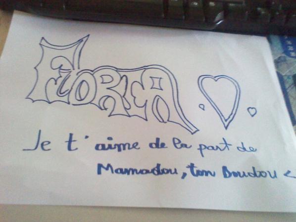 Pour toi Mn Coeur Floria <3