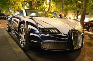 Lamborghini Gallardo LP520 Vs. Bugatti Veyron GrandSport l'Or Blanc