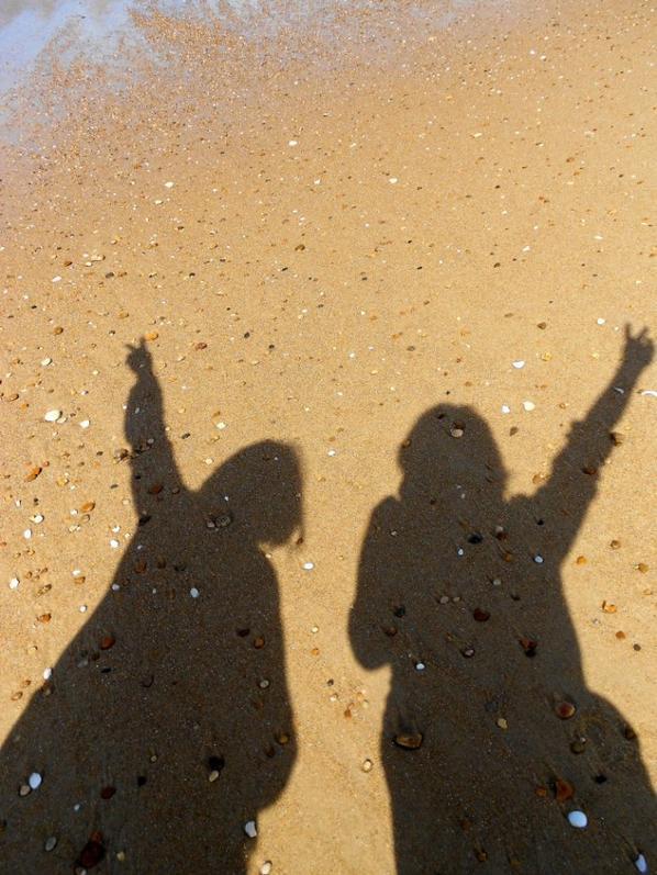 shooting sur la plage
