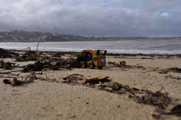 Nettoyage des plages ...