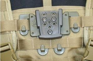 Holster Vegatek® level 3 ou 4 pour Beretta 92 et MAS G1 Vert O.D