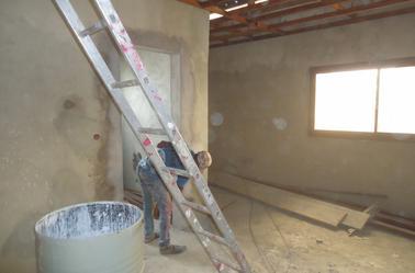 peinture bâtiment