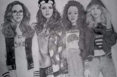 Portrait Little Mix