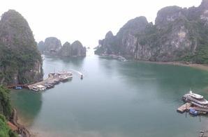 De retour de la Baie d'Halong
