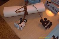 mickey bebe avec ourson