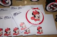 minnie baby noir blanc rouge