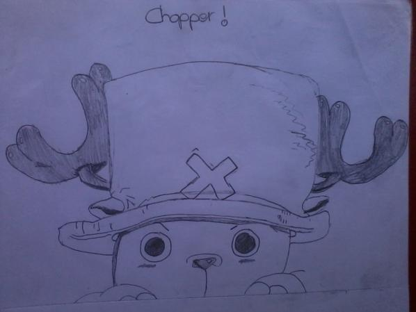 Chopper de One piece !! :)