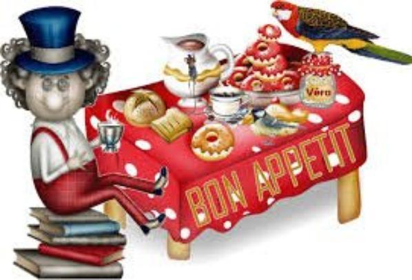 Bonne appétit à tous !!