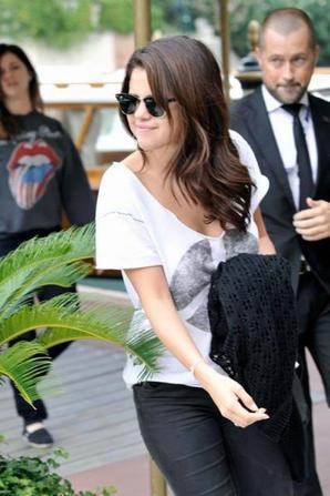 Selena Gomez à Venise ! :D