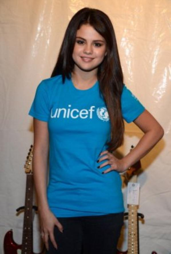 Selena Gomez  assiste au « Global Citizen Festival » à New-York pour l'UNICEF! :)