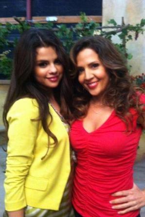 Selena Gomez sur le tournage de Sorciers de Waverly Place! :)