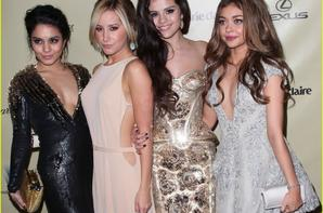 Selena s'est rendue à l'after party Warner Bros et Instyle Golden Globe Awards 2013.