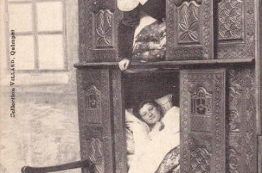 le lit  clos  breton