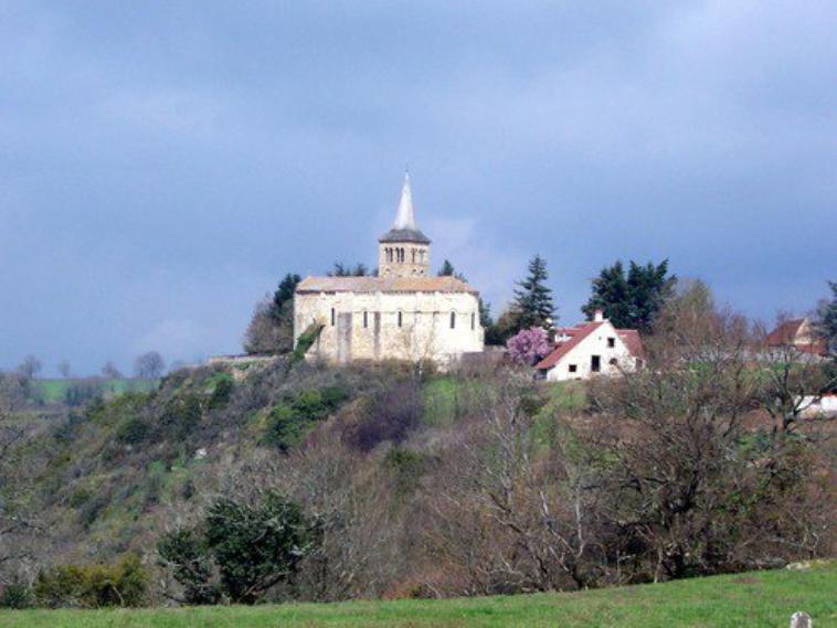 L'église  de  CHATELOY