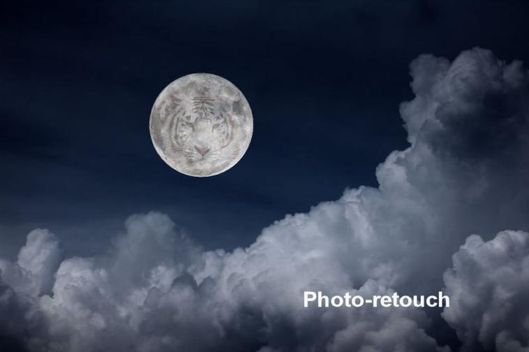 la Lune dans tout ces états ;-)