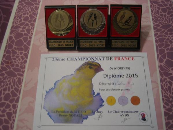 Championnat de France FFO 2015