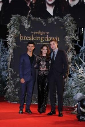 Première de Breaking Dawn part.2 à Londres