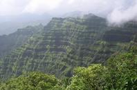 Scenic beauty Panchgani hill station in Maharashtra