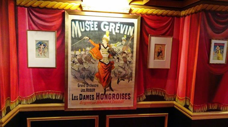 une visite au musée Grévin avec mon amie Dalillou
