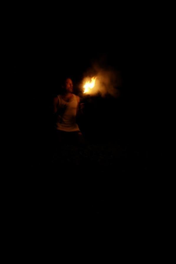 spectacle de feux festival la crey son festif du 29/07/2012