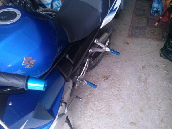 Modifs sur ma moto :D