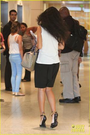 Rihanna se rend à un rendez vous professionnel