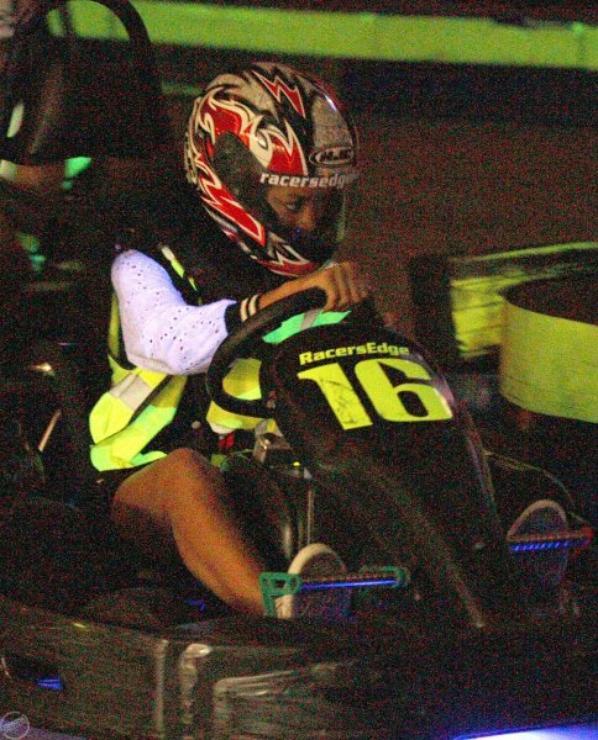 Rihanna fait du karting avec Rob